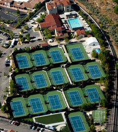 The Paseo Club Tennis & Swim Club Valencia California